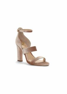 Vince Camuto Women's ROBEKA Heeled Sandal Metal Blush  Medium US