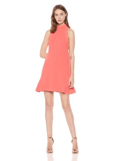 Vince Camuto Women's Roll Neck Shift Dress