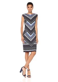 Vince Camuto Women's Scuba Bodycon Dress