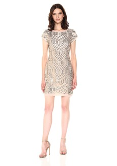 Vince Camuto Women's Sequin Shift Dress