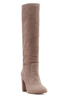 a140c613b70 VINCE CAMUTO Women s Sessily Round Toe Slouchy High-Heel Boots - 100%