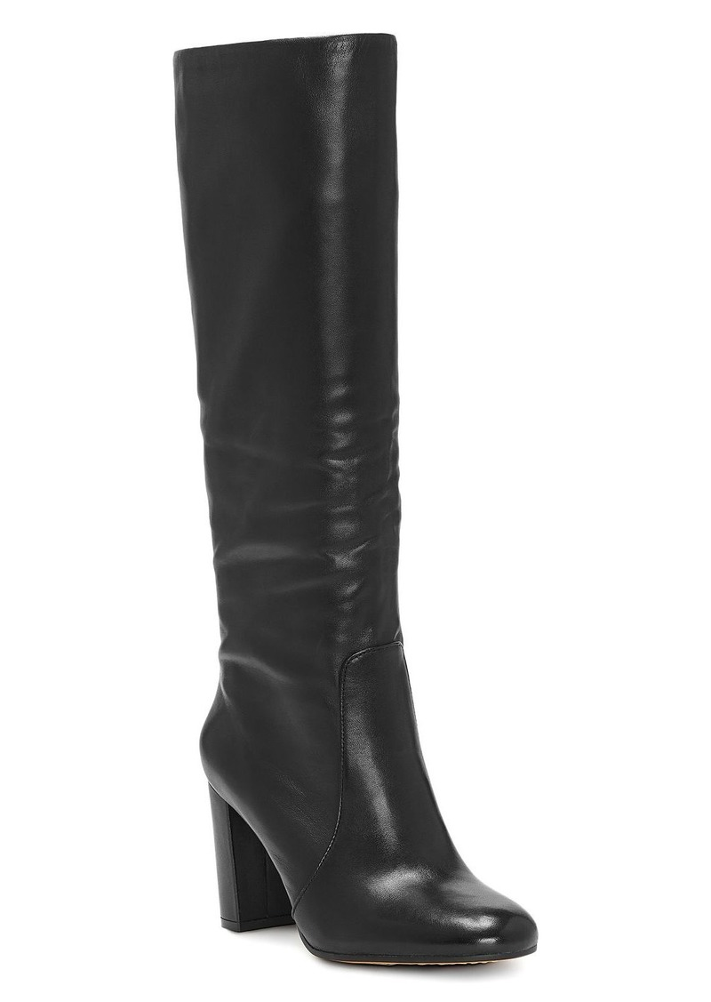 VINCE CAMUTO Women�s Sessily Round Toe Slouchy High-Heel Boots - 100% Exclusive