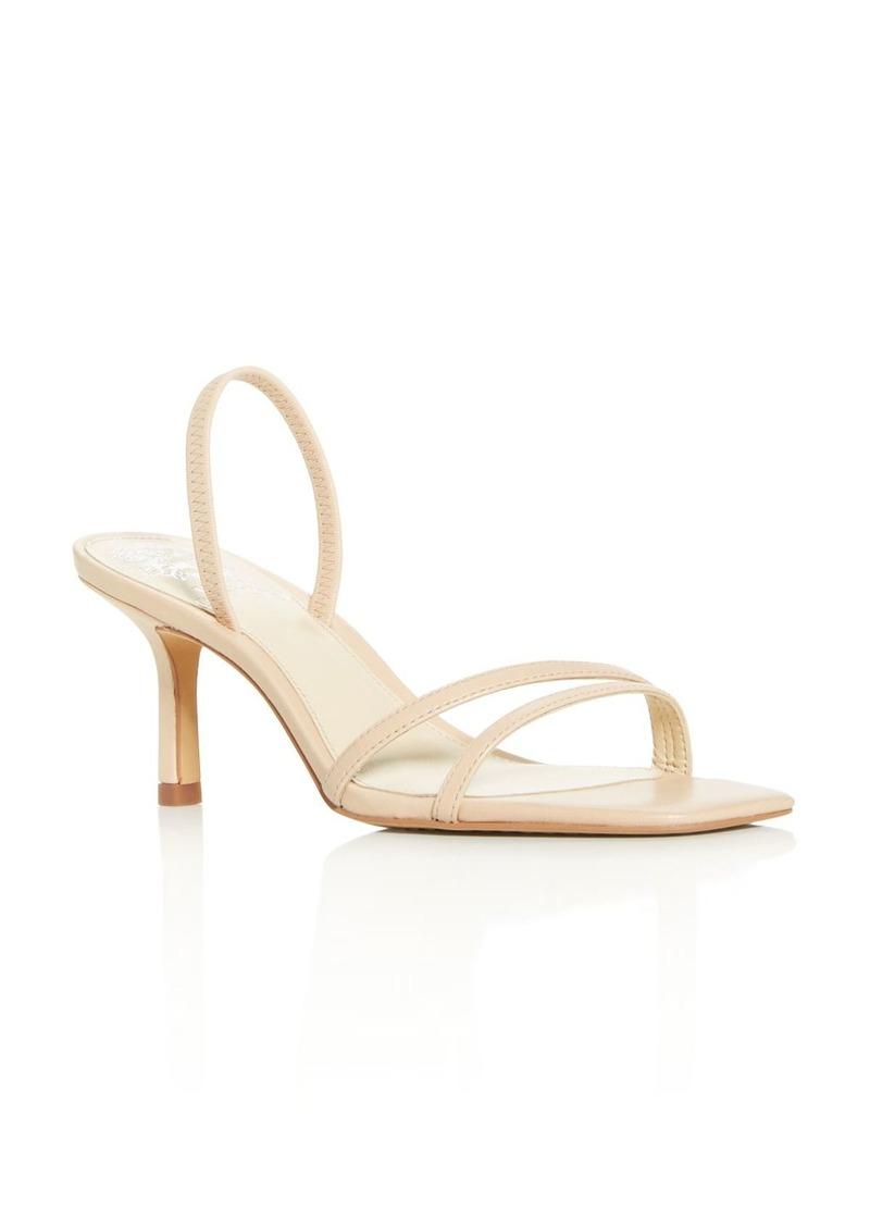 VINCE CAMUTO Women's Sheela High-Heel Slide Sandals