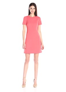 Vince Camuto Women's Short Sleeve Sheath Dress