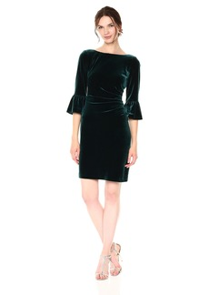 Vince Camuto Women's Side Draped Dress