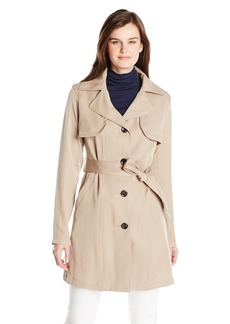 Vince Camuto Women's Single Breasted Trench Coat