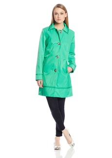 Vince Camuto Women's Single Breated Trench