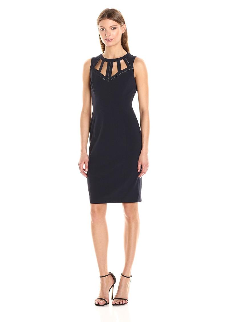 Vince Camuto Women's Sleeveless Bodycon Midi Dress