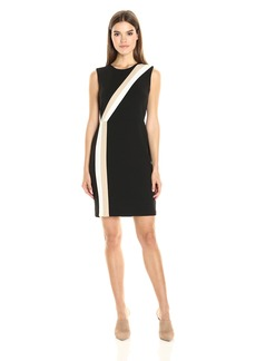 Vince Camuto Women's Sleeveless Colorblocked Dress