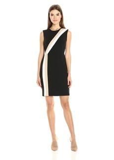 Vince Camuto Women's Sleeveless Colorblocked Dress