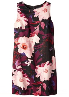 Vince Camuto Women's Sleeveless Floral  Shift Dress