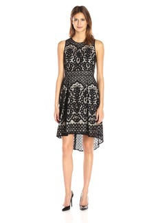 Vince Camuto Women's Sleeveless High Low Dress