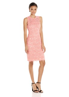 Vince Camuto Women's Sleeveless Lace Bodycon Dress