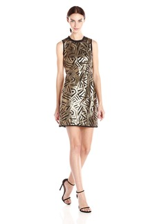 Vince Camuto Women's Sleeveless Sequin Dress