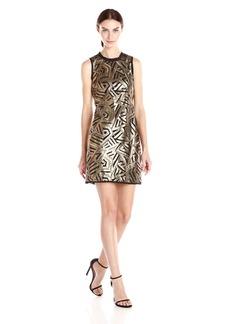 Vince Camuto Women's Sleeveless Sequin Dress