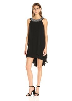 Vince Camuto Women's Sleeveless Tiered Float Dress