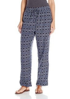 Vince Camuto Women's Slim eg Tribal Batik Drawstring Pants  arge
