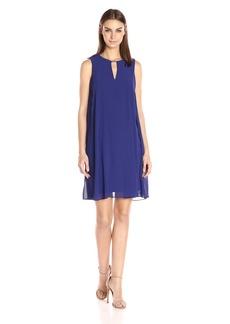 Vince Camuto Women's Solid Chiffon Float Dress