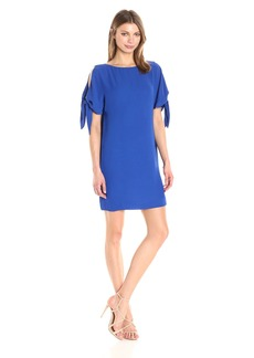 Vince Camuto Women's Solid Crepe Shift Dress