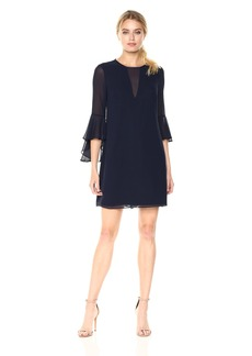 Vince Camuto Women's Souffle Chiffon Float Dress