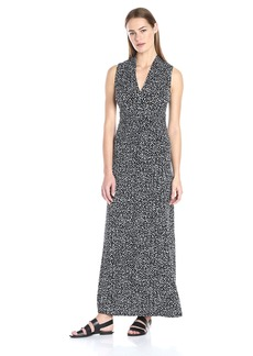 Vince Camuto Women's Speckle Graphic Maxi Dress