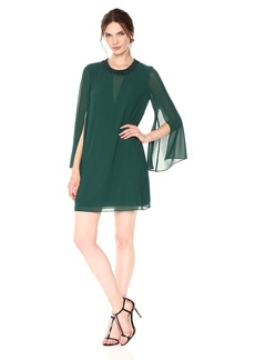 Vince Camuto Women's Split Sleeve Float Dress