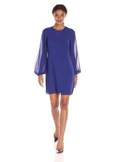 Vince Camuto Women's Split Sleeve Float Dress