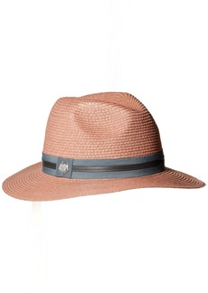 Vince Camuto Women's Straw Panama Hat with Double Band