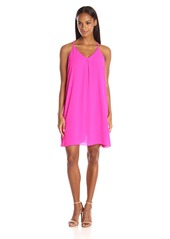 Vince Camuto Women's Tank Dress with Inverted Front Pleat