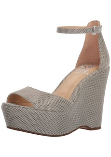 Vince Camuto Women's Tatchen Wedge Sandal  8 Medium US