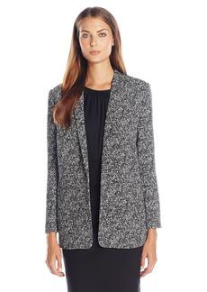 Vince Camuto Women's Texture Tweed Boyfriend Blazer