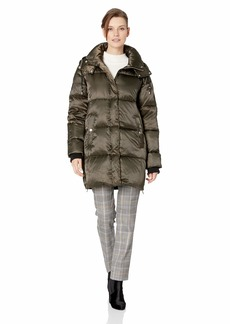 Vince Camuto Women's Thigh Length Puffer Down Jacket  XSmall