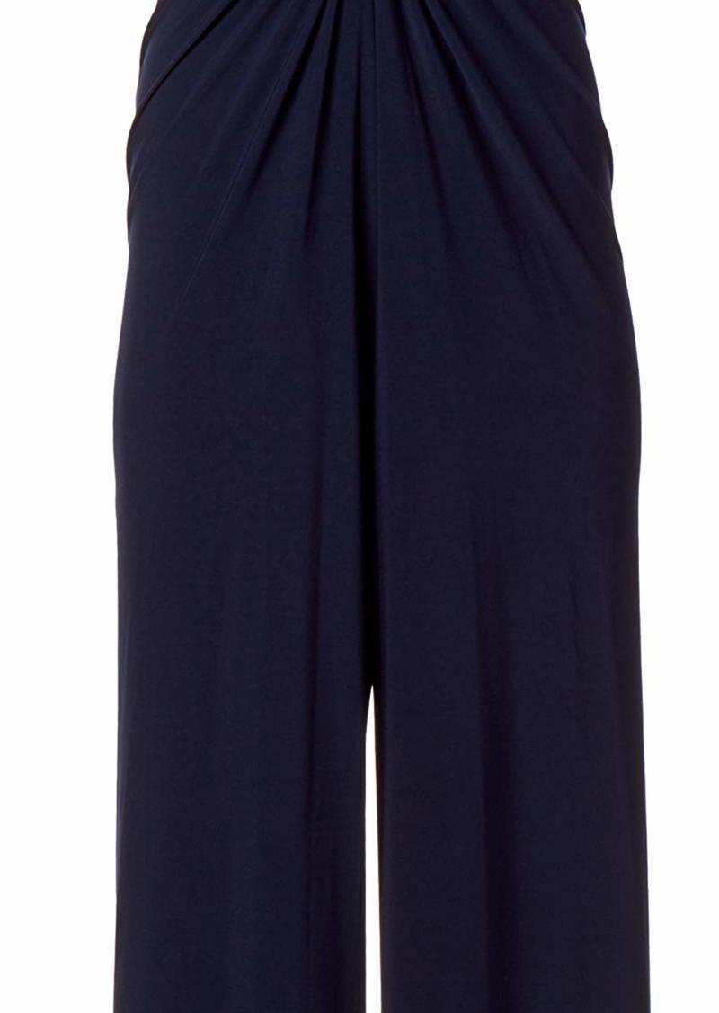 Vince Camuto Women's Twist Front Jumpsuit  Extra Large