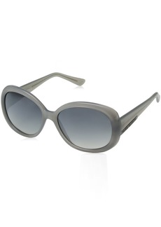 VINCE CAMUTO Women's VC624 Glam UV Protective Oval Sunglasses | Wear Year-Round | Luxe Gifts for Women 57 mm