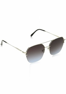 VINCE CAMUTO Women's VC814 Metal UV Protective Geometric Square Sunglasses | Wear Year-Round | Luxe Gifts for Women