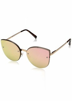 VINCE CAMUTO Women's VC830 Cat-Eye UV Protective Sunglasses | Wear Year-Round | Luxe Gifts for Women
