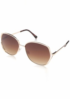 VINCE CAMUTO Women's VC834 Rectangular UV Protective Sunglasses | Wear Year-Round | Luxe Gifts for Women