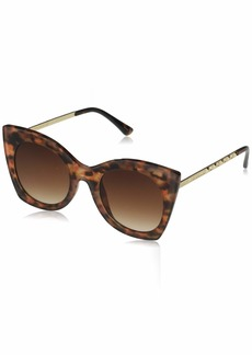 VINCE CAMUTO Women's VC859 Cat-Eye UV Protective Sunglasses | Wear Year-Round | Luxe Gifts for Women