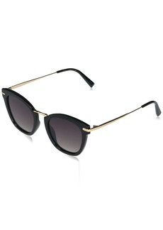 VINCE CAMUTO Women's VC898 UV Protective Cat-Eye Metal Detailed Sunglasses | Wear Year-Round | Luxe Gifts for Women