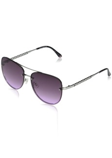 VINCE CAMUTO Women's VC954 Stylish UV Protective Metal Aviator Sunglasses | Wear Year-Round | Luxe Gifts for Women 61 mm