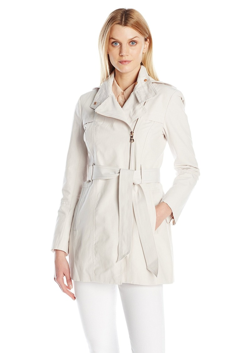 Vince Camuto Women's Water Repellent Belted Trench Coat