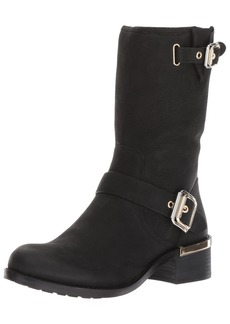 Vince Camuto Women's Windy Motorcycle Boot  8.5 Medium US