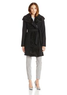 Vince Camuto Women's Wool-Blend Wrap Coat