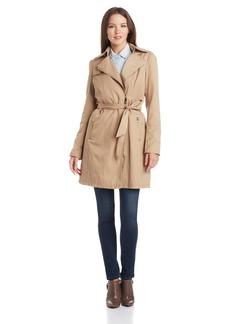 Vince Camuto Women's Zip Front Trench Coat