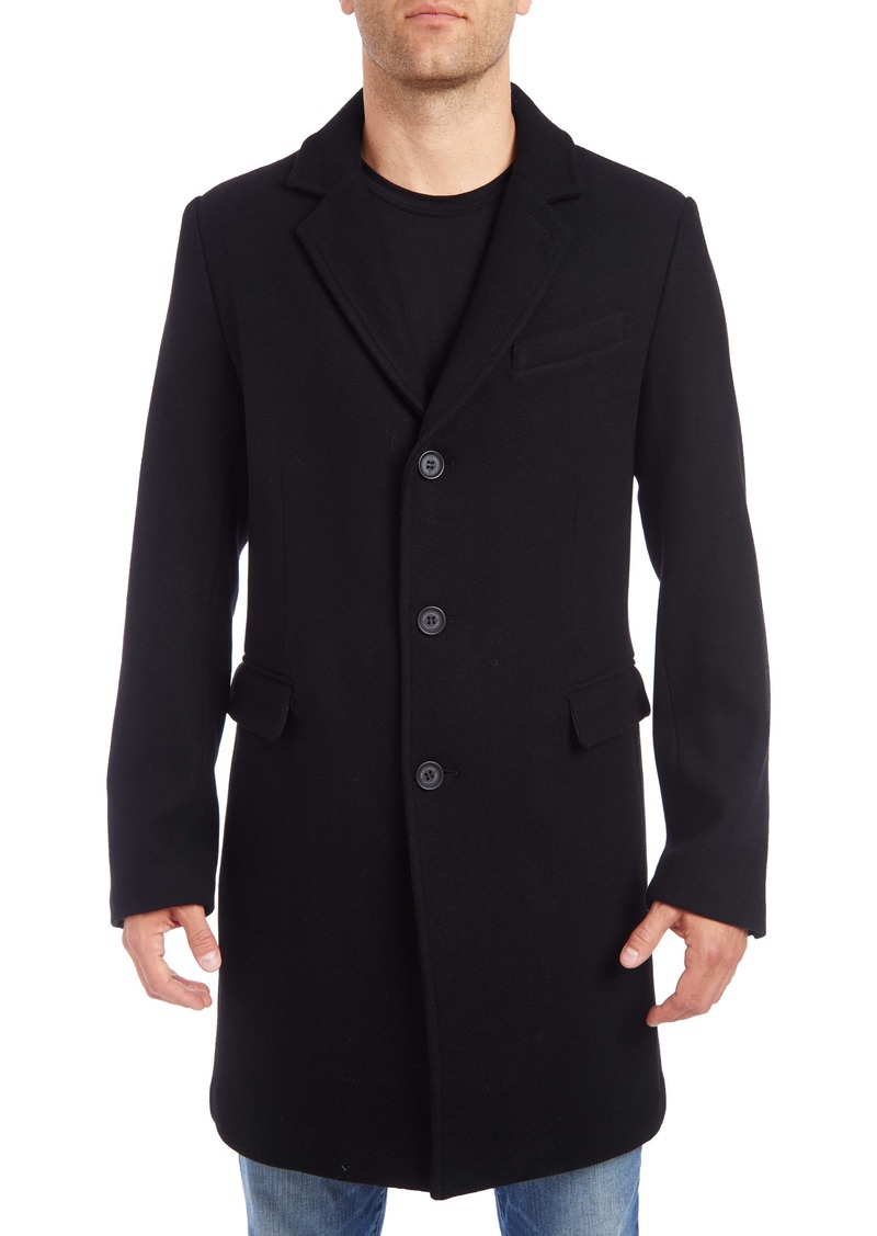 Vince Camuto Wool Blend Car Coat