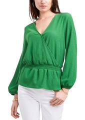 Vince Camuto Wrap-Style Knit Top
