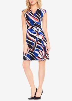 Vince Camuto Zebra-Print Wrap Dress