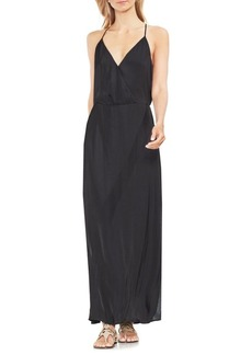 Vince Camuto Zen Bloom Wrapped Maxi Dress