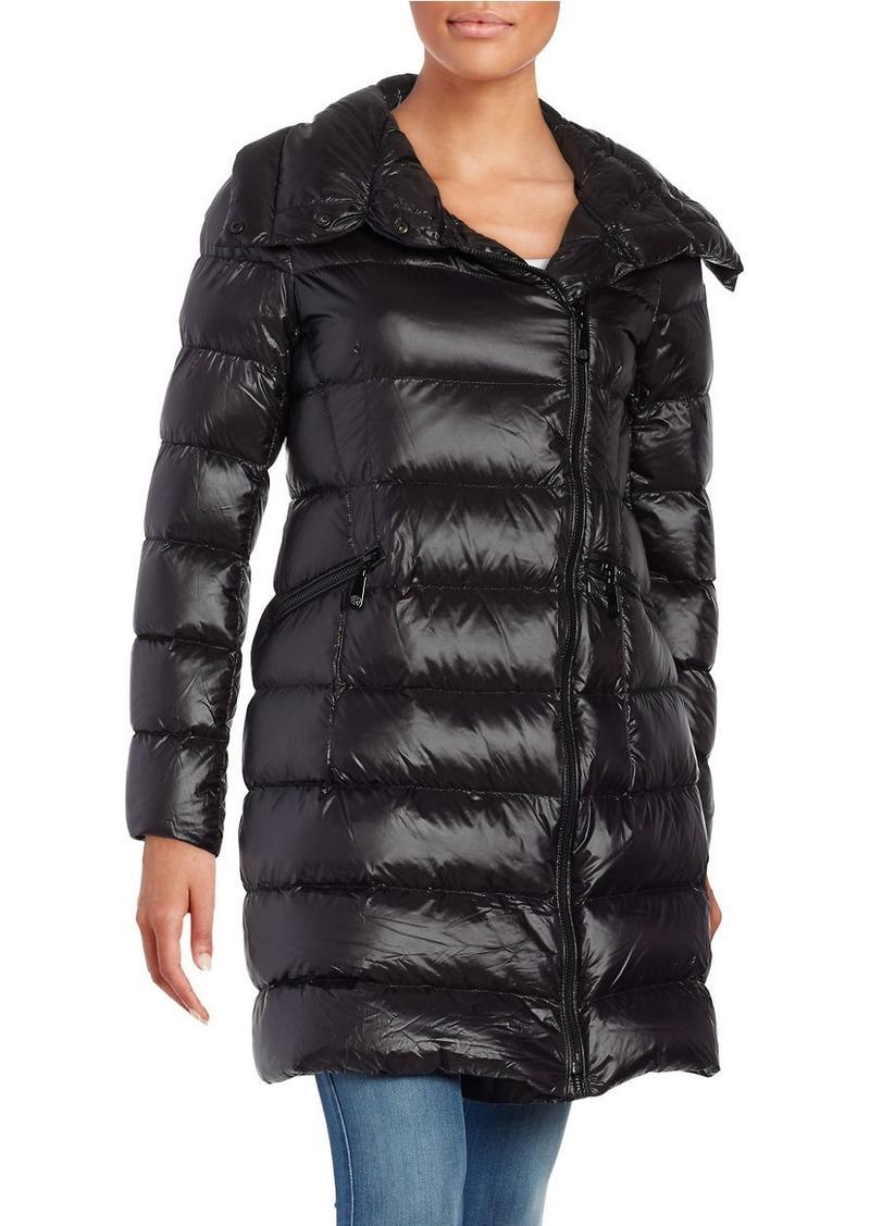 VINCE CAMUTO Zip-Front Down Puffer Coat