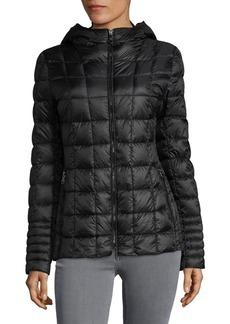Vince Camuto Zip-Front Puffer Coat